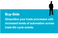 Buy-Side - Streamline your trade processes with increased automation across trade life cycle events.