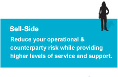 Sell-Side - Reduce your operational & counterparty risk while providing higher levels of service & support.