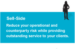 Sell-side: Reduce your operational and counterparty             risk while providing higher levels of service to your clients.